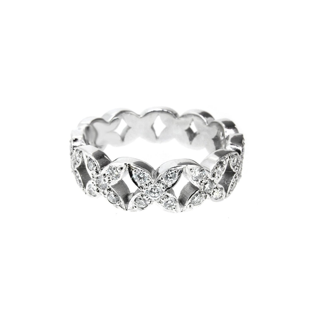 Garland Diamond Ring