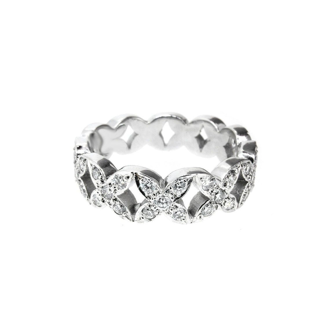 Garland Diamond Ring full set