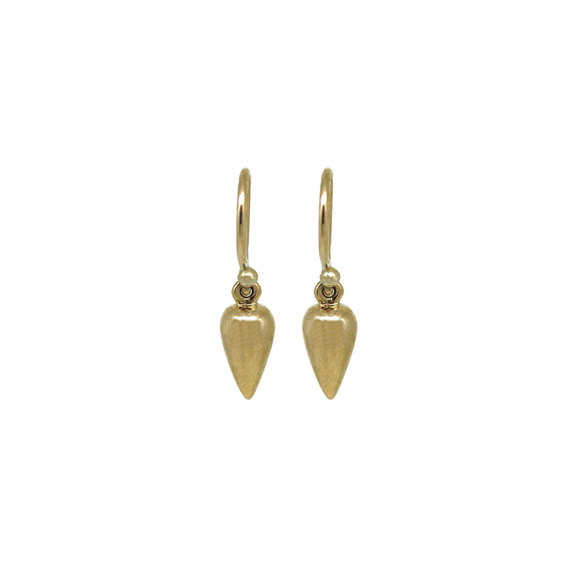 Mini Gold Pendulum Earrings