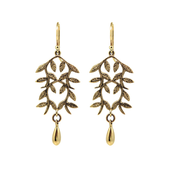 Gold Tuilerie Earrings