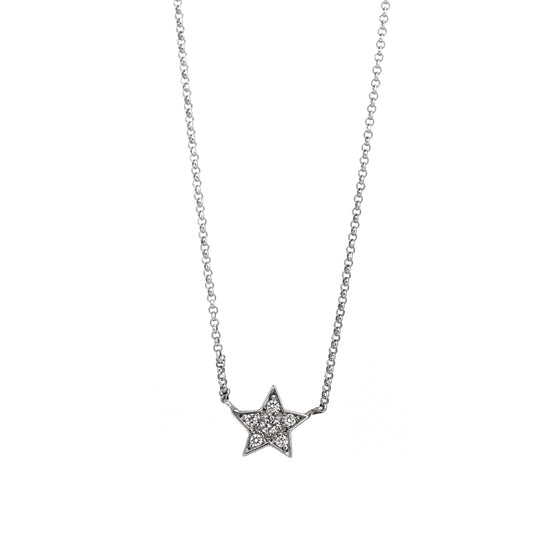 Little Star Diamond Necklace