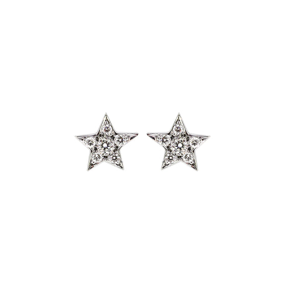 Little Star Diamond Earrings
