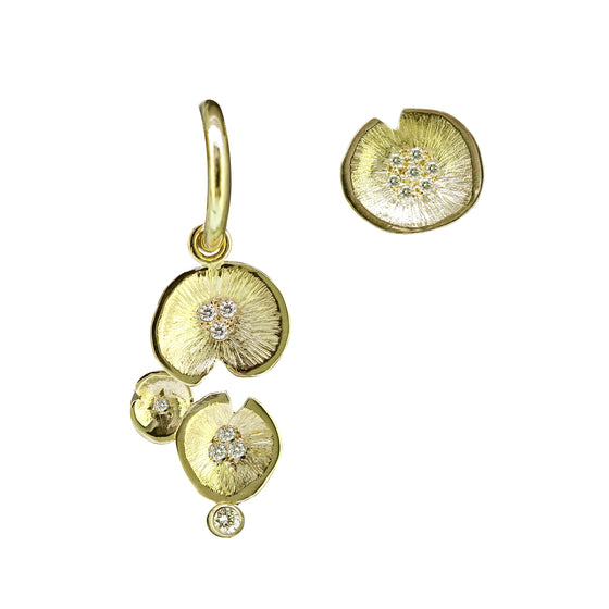 Twilight Lilypad earrings