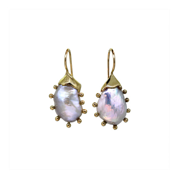 Mollusc Pearl Earrings