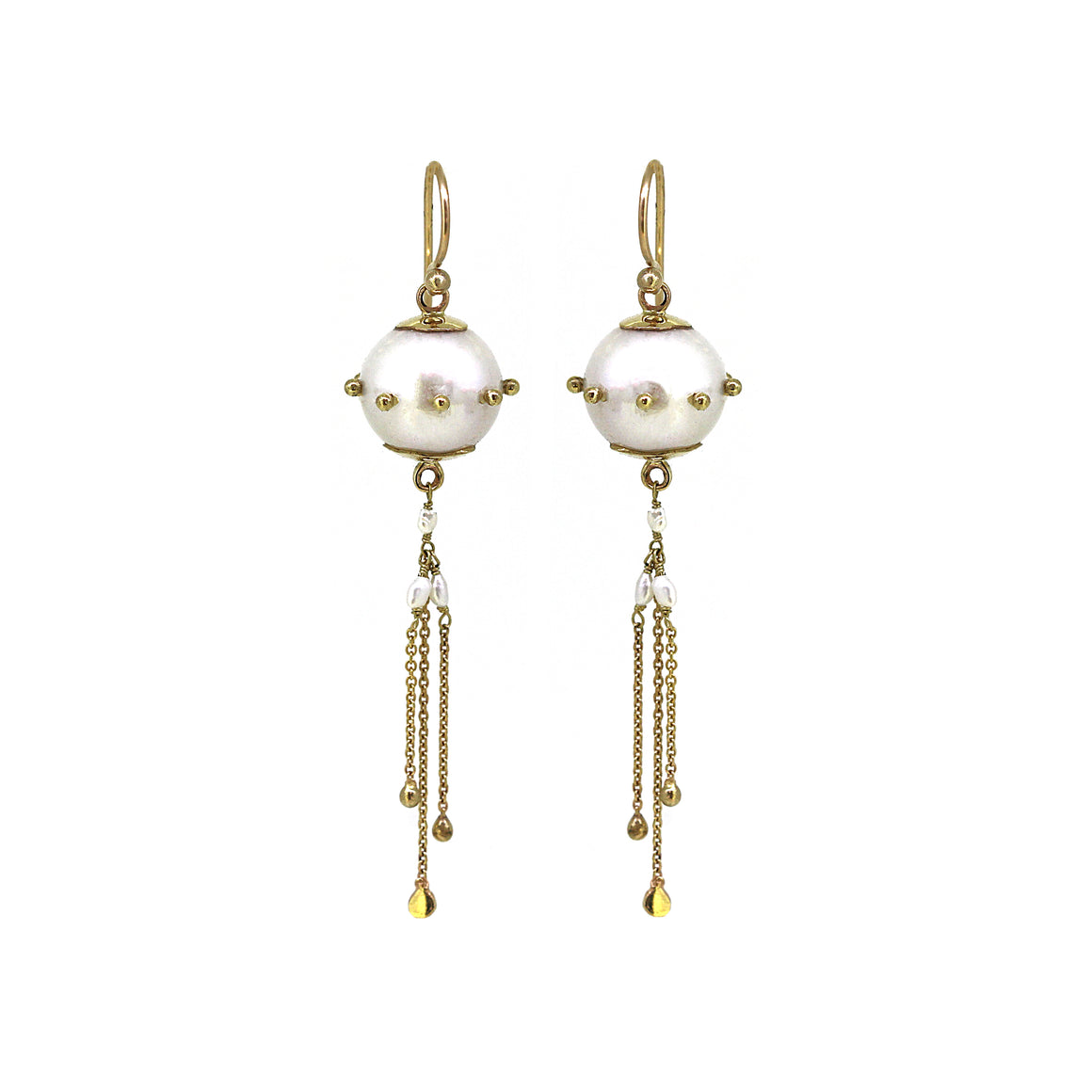 Jellyfish Pearl Earrings