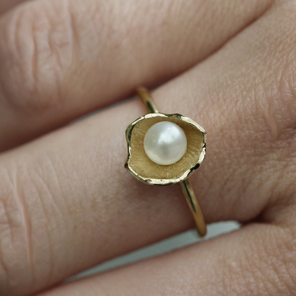 Large Sunken Treasure Pearl Ring