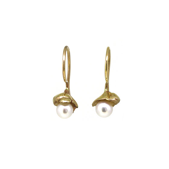 Sunken Treasure Pearl Earrings