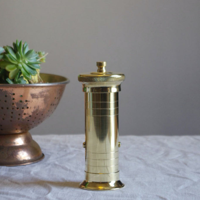 Brass Chef's Pepper Mill