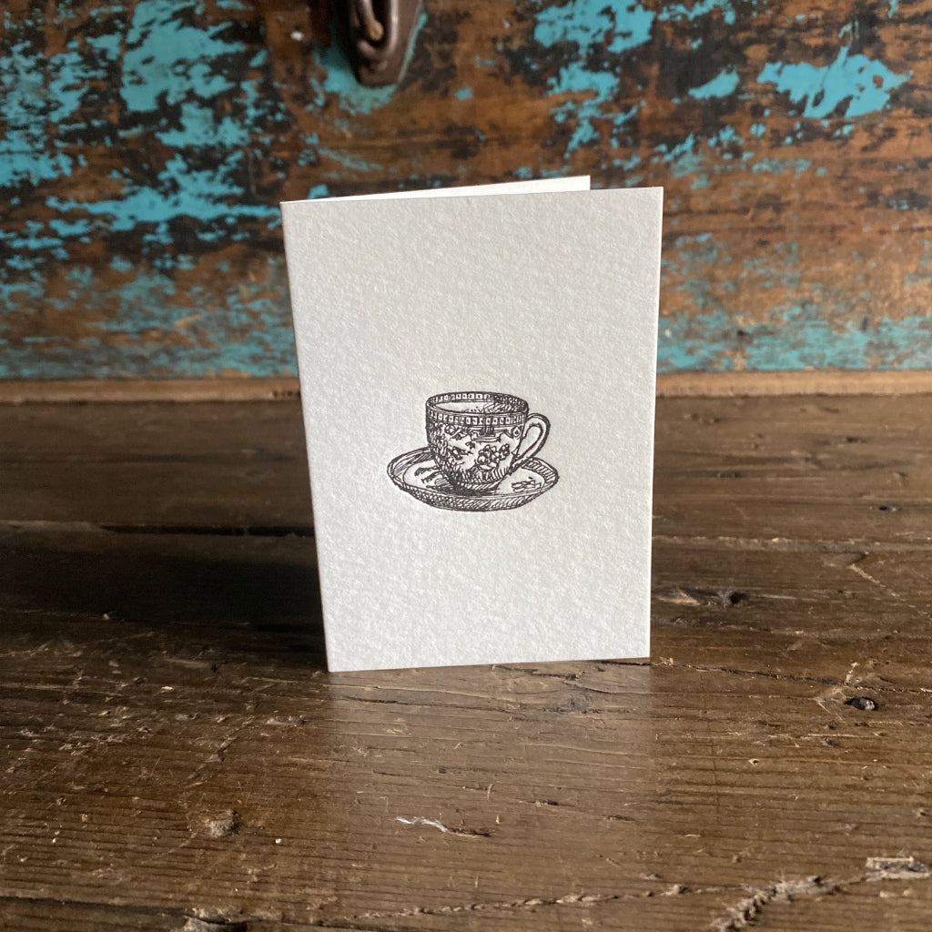 Manteau Noir Letterpress Cards
