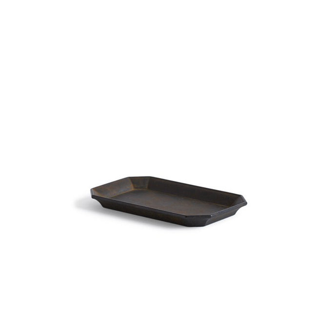 Futagami Kuro-Mura Brass Stationery Tray Medium