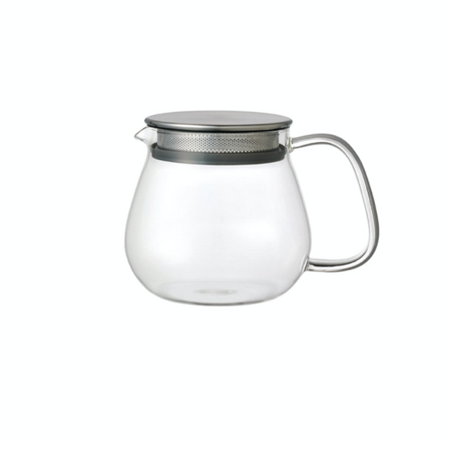 Knito Unitea One Touch Glass Teapot