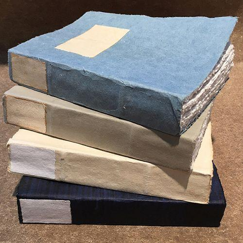 Handmade Biblio 100% Cotton Paper Journal 17cm x 25cm