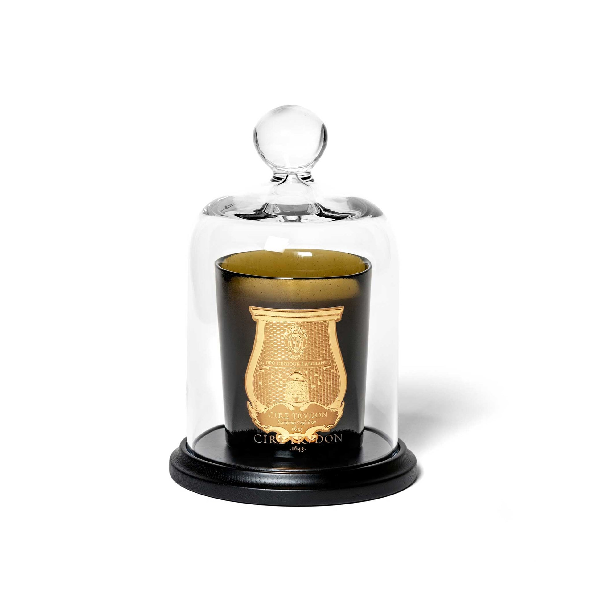 """La Cloche"" bell jar and base"