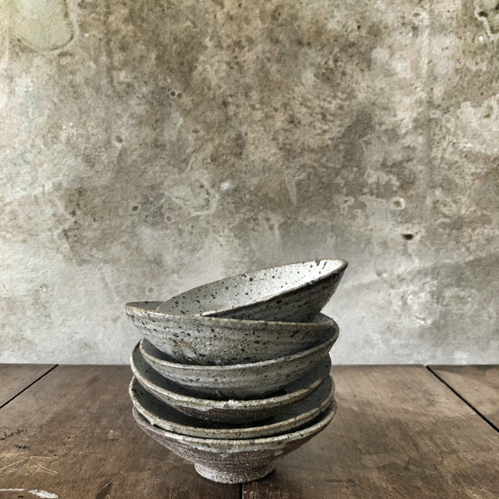 Andrei Davidoff Stoneware Footed Bowl Small