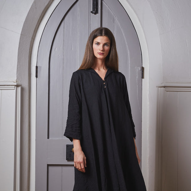 Hallelujah Robe de Femme de Chambre with collar