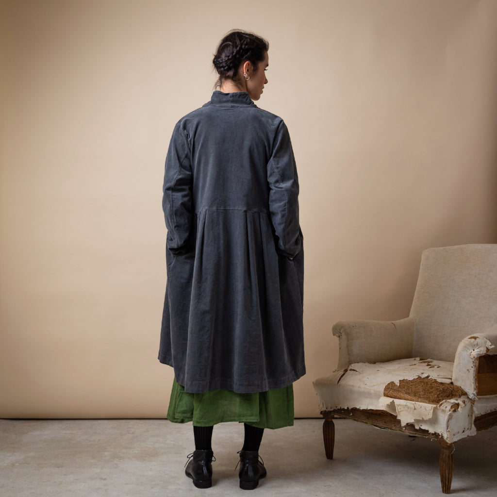 Frederic Cotton Velvet Coat