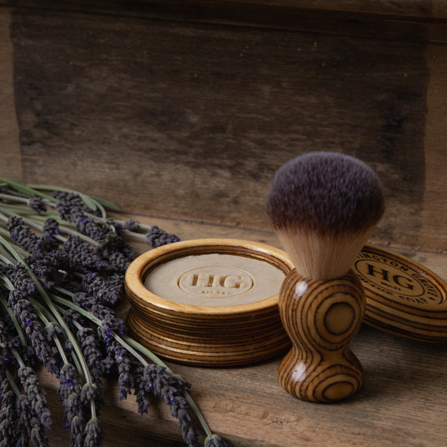 The Huntington Grove Luxury Shaving Bowl and Brush Set