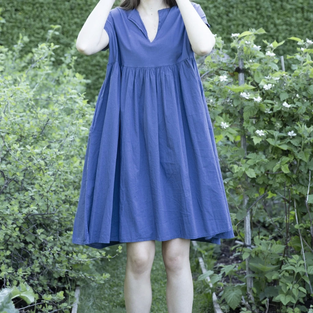 Sample and Seconds Sale Talia Benson Cotton Poplin Sun Dress