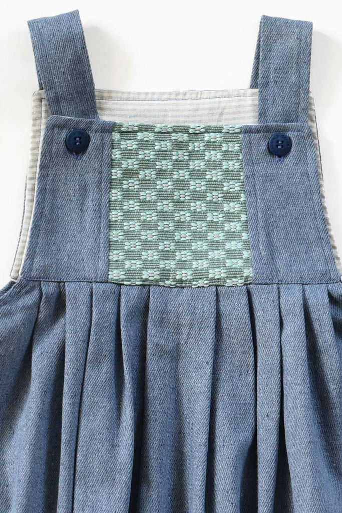 Guatemala Collection:  Upcycled Denim Green