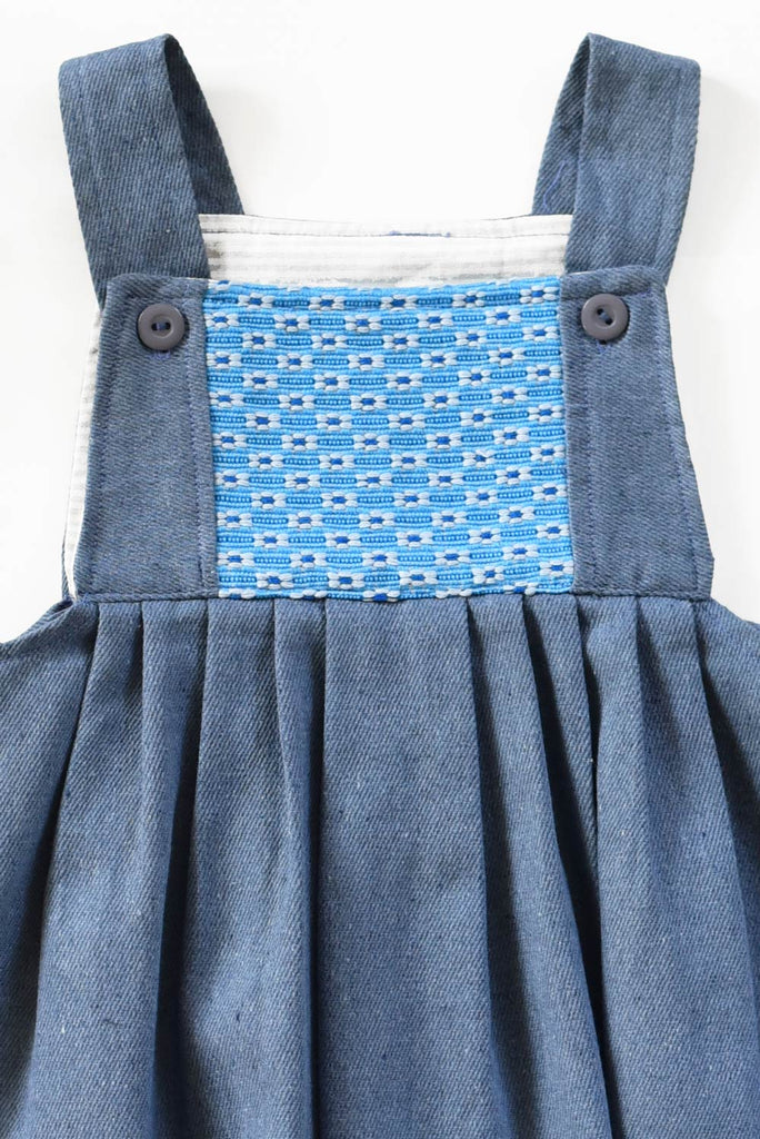 Guatemala Collection:  Upcycled Denim Blue