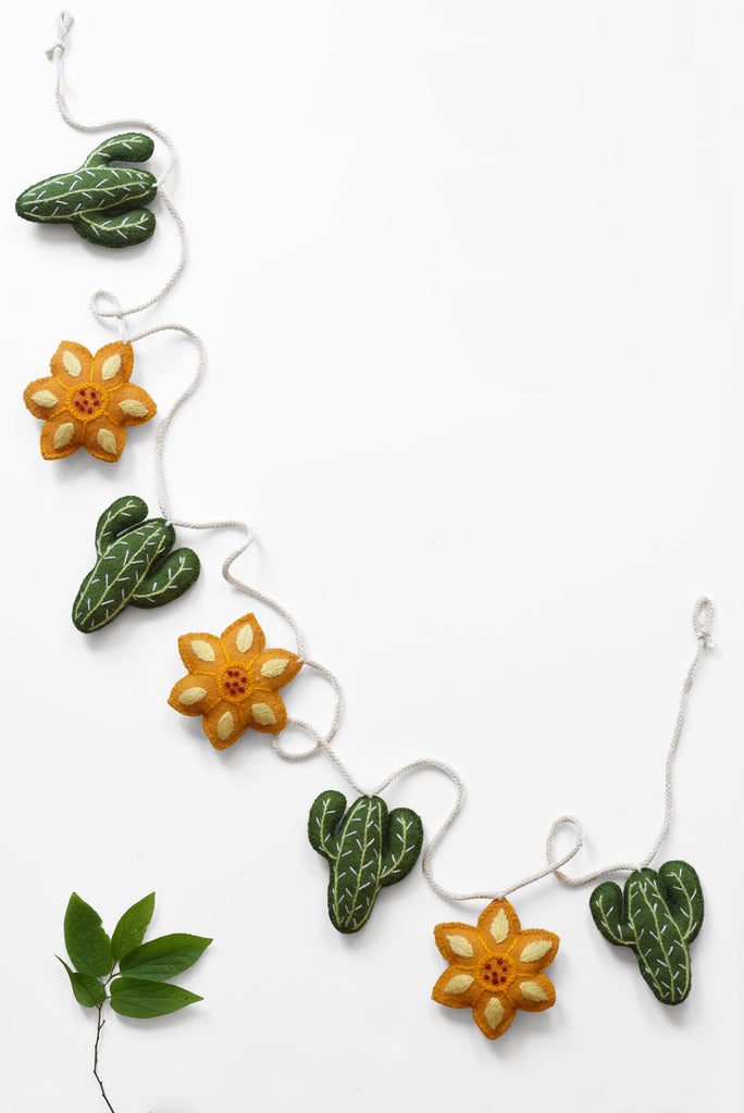The Barranco Home Collection: Cactus Garland
