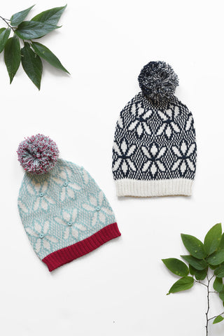 Pattern Knit Hats