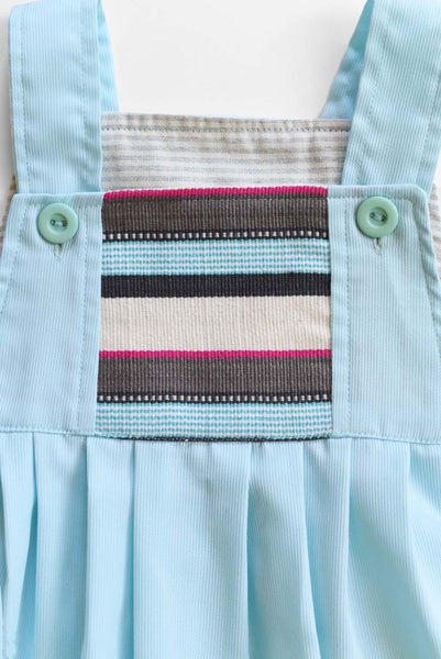 Guatemala Collection:  Blue Cotton Stripe