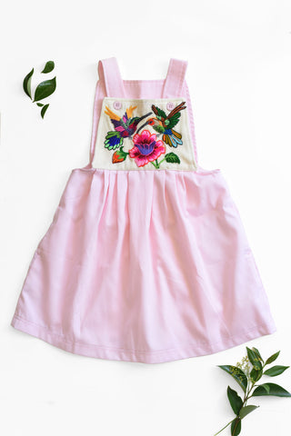 Guatemala Collection:  Pink Cotton Embroidery