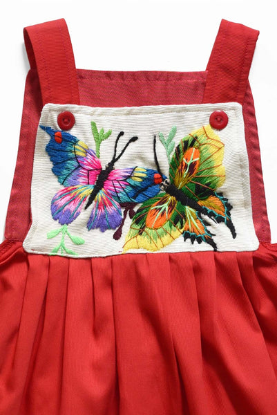 Guatemala Collection:  Red Cotton Embroidery