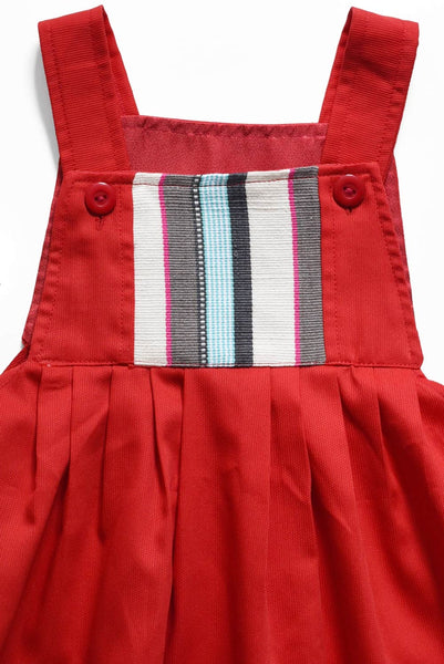 Guatemala Collection:  Red Cotton Stripe