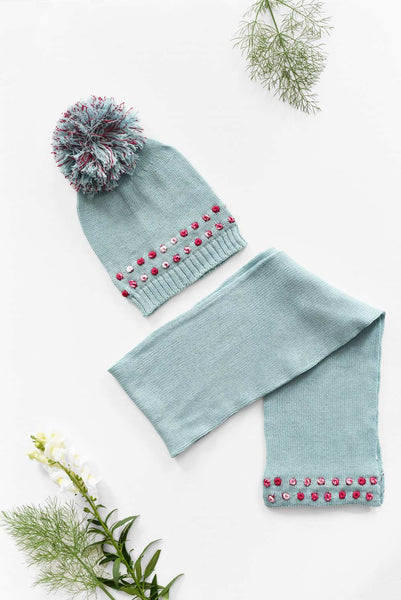 Knit Hat & Scarf Bundle