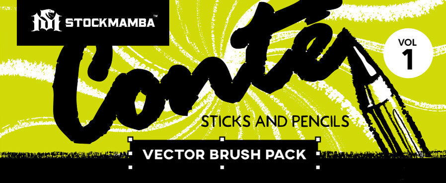 Conté Brush Pack - VOLUME 1