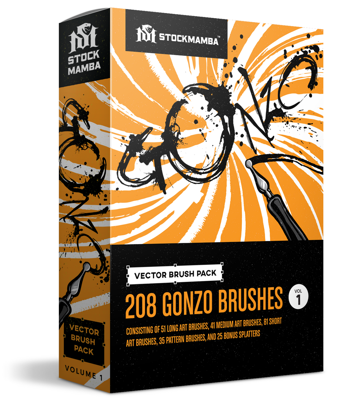 Gonzo Brush Pack - VOLUME1