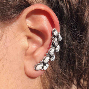 White Buffalo Double Stone Ear Climber