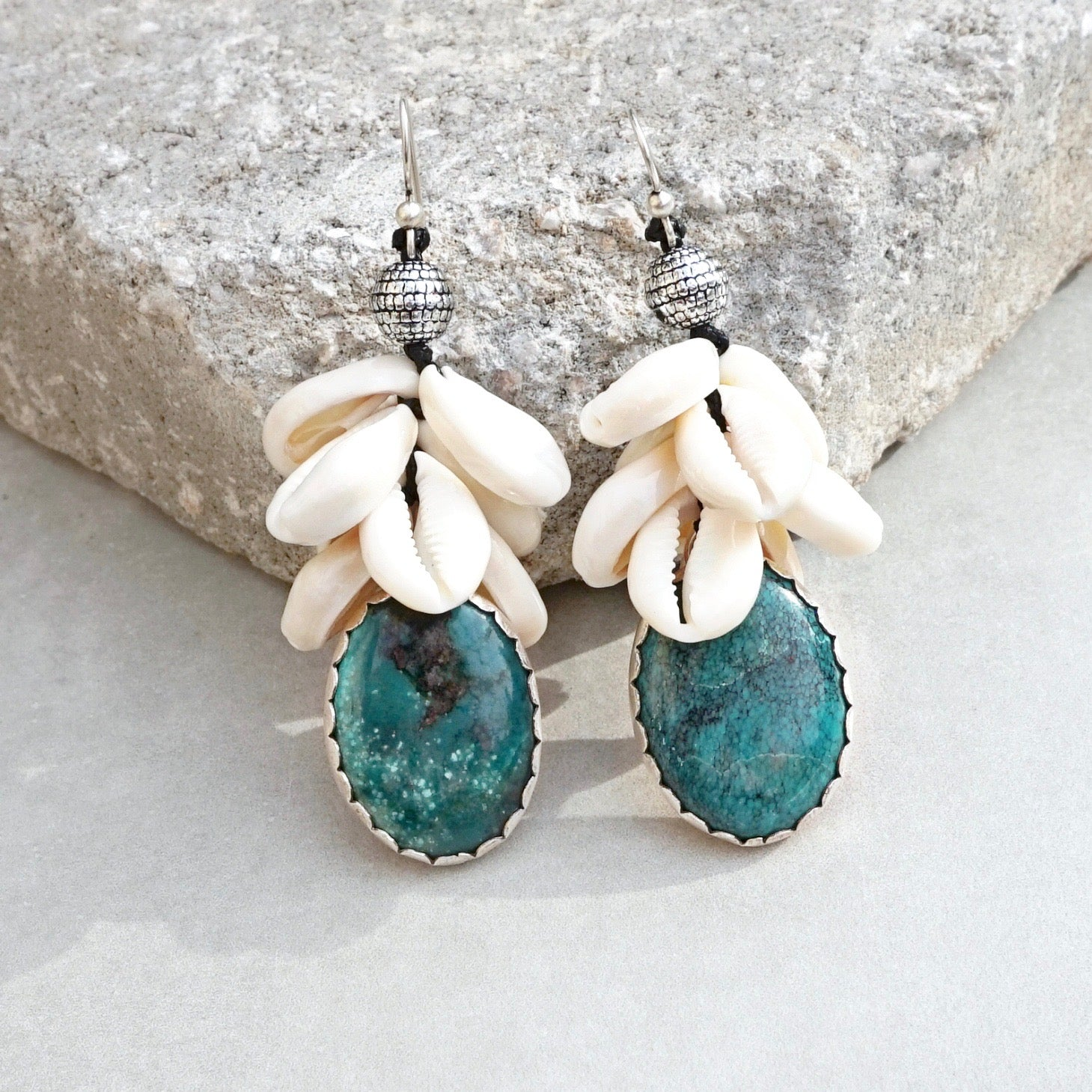 Doris Earrings-Turquoise