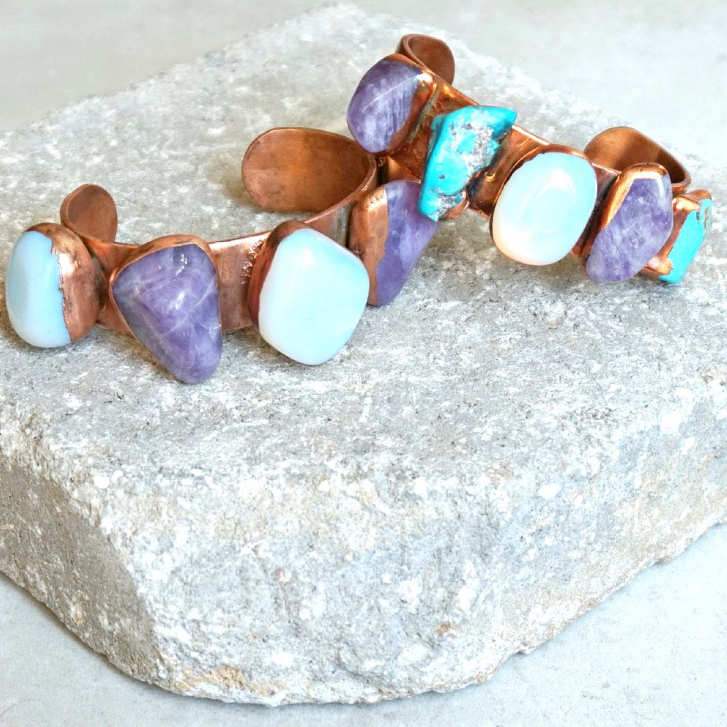 Island Hopper Gemstone Cuff