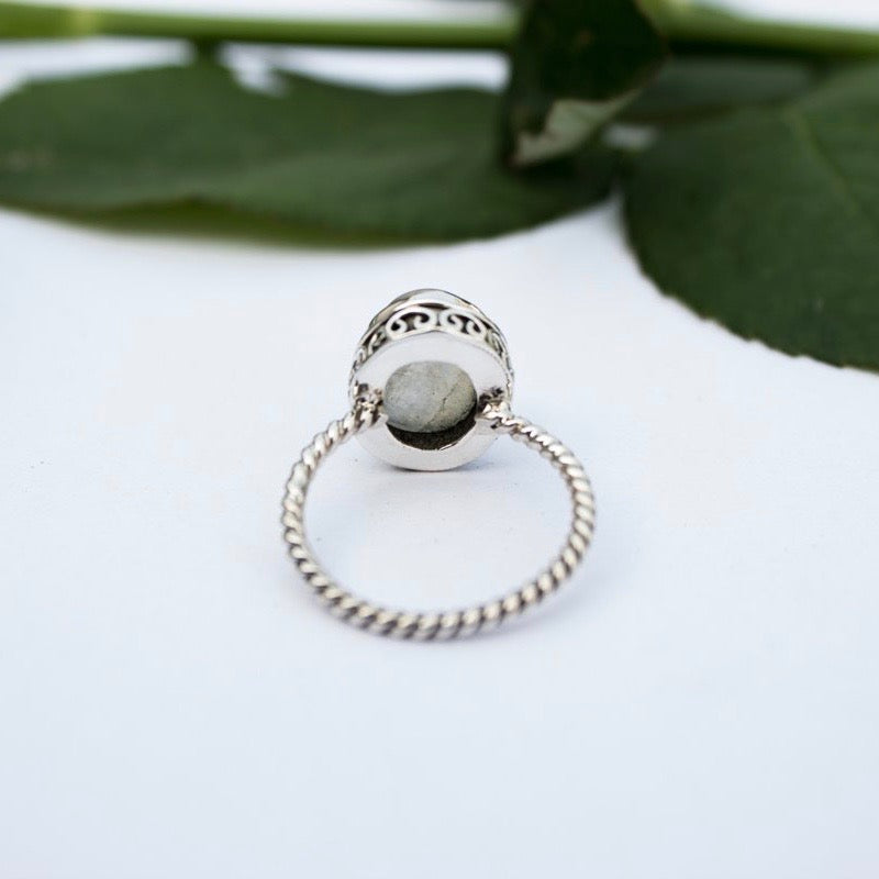 Moonstone Stacker Ring