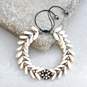 Cowrie Shell Mermaid Choker
