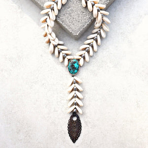 Siren Necklace - Turquoise