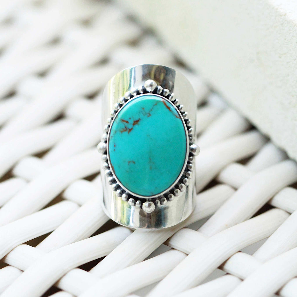 Natural Statement Turquoise Ring