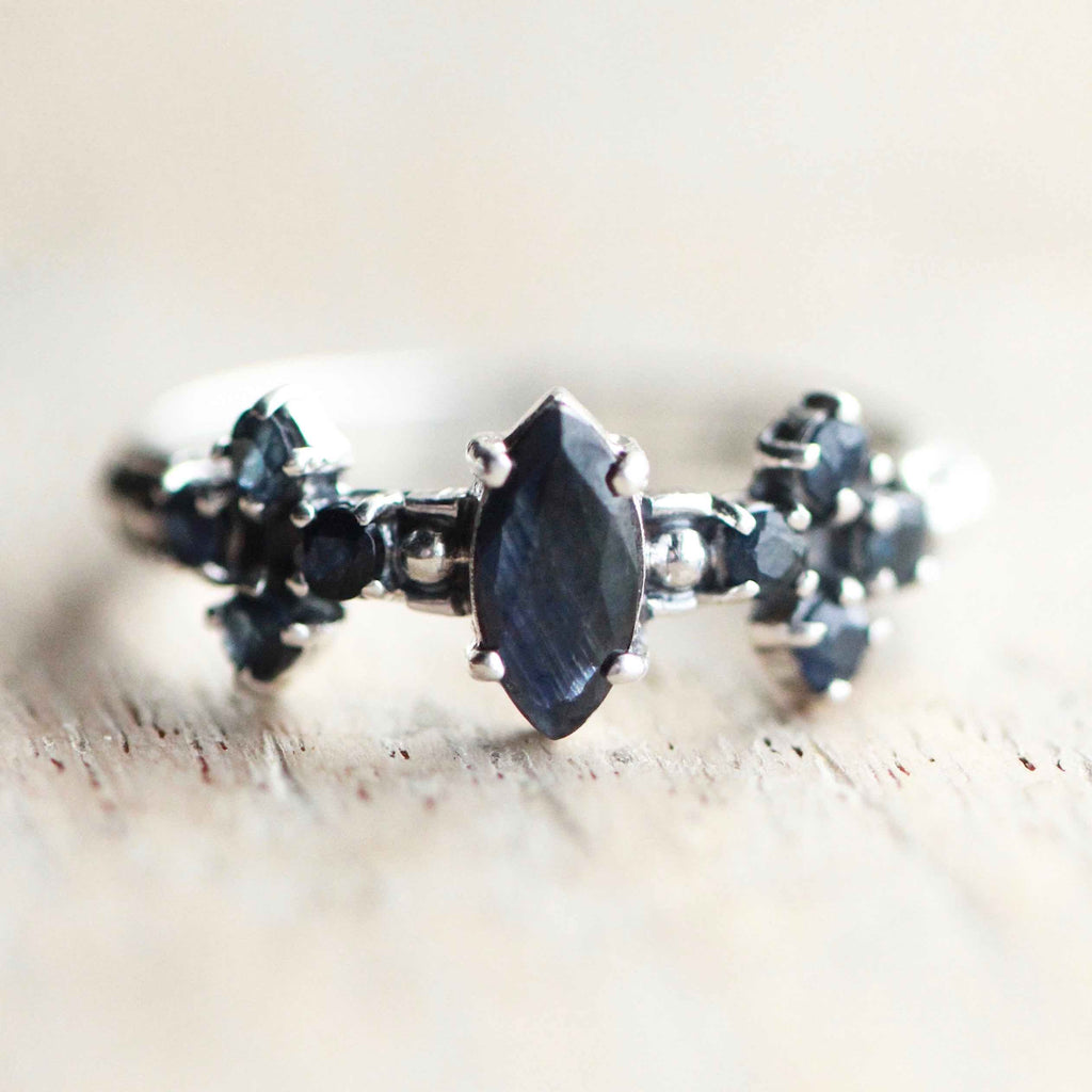'Remember Me' Blue Sapphire Ring