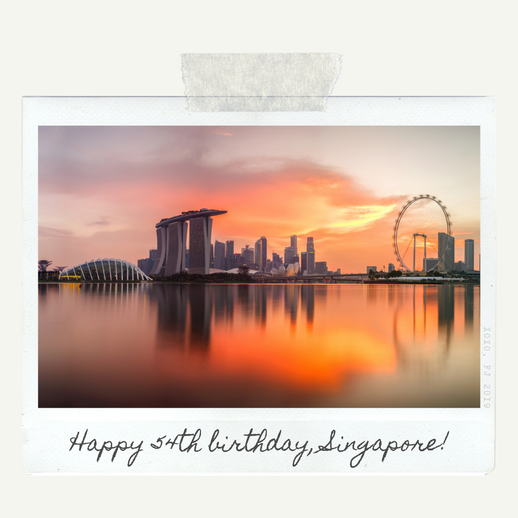 Lyaya by FJ celebrates Singapore's 54th National Day! – Lyaya by FJ