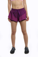 Lyaya Breathable Solid Workout Shorts