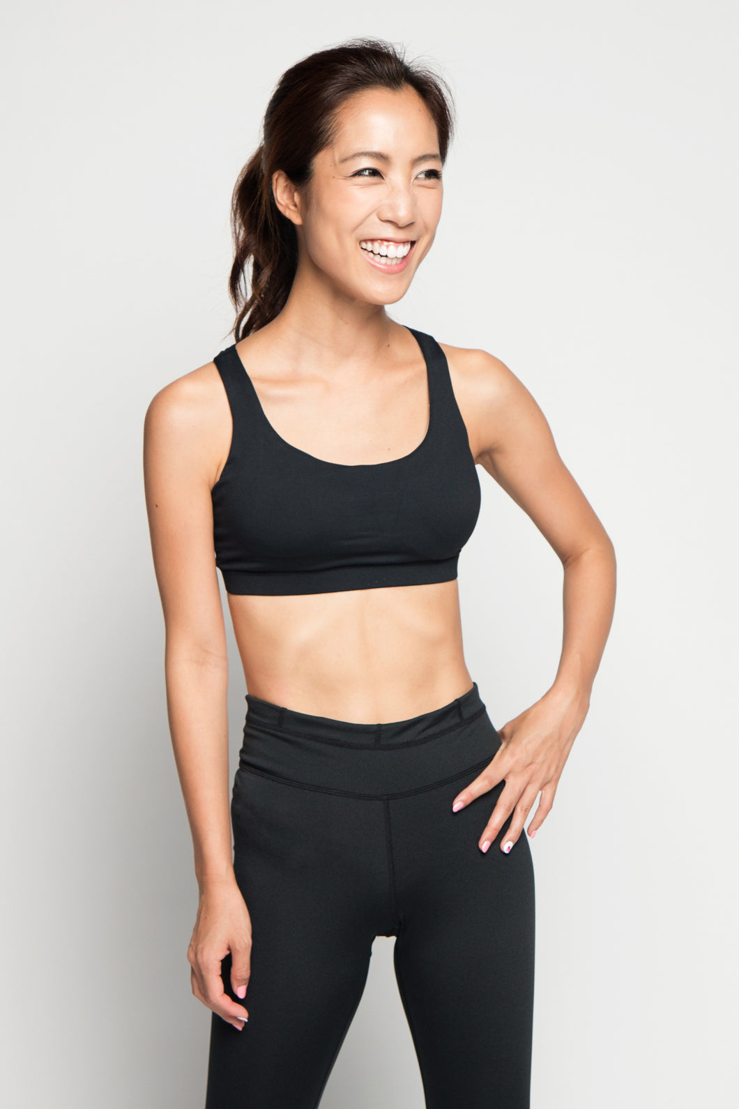 Lyaya Sexy Cross Back Sports Bra