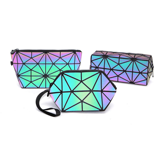Holographic Cosmetic Travel Set