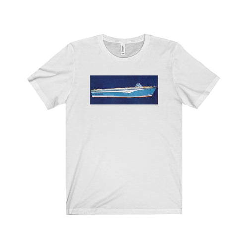 Higgins Mandalay Unisex Jersey Short Sleeve Tee by Retro Boater
