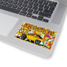 Plymouth Roadrunner Kiss-Cut Stickers by SpeedTiques