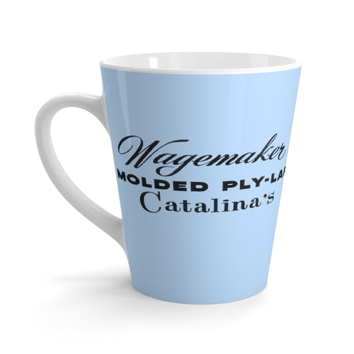 Wagemaker Catalina Latte mug by Retro Boater