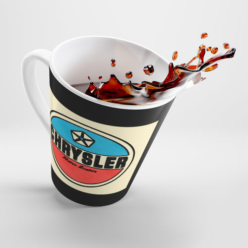 Chrysler Latte mug by Retro Boater