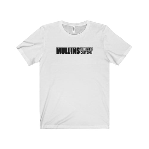 MULLINS Boats Unisex Jersey Short Sleeve Tee by Retro Boater